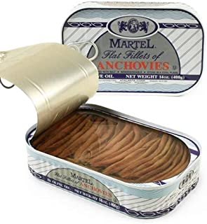 Martel Flat Fillets of Anchovies - 28 oz (28 ounce)