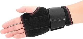 手首サポートブレース-手根管症候群、腱炎、骨折、捻挫、関節炎用の手サポート副子アーム保護ストラップ,Left