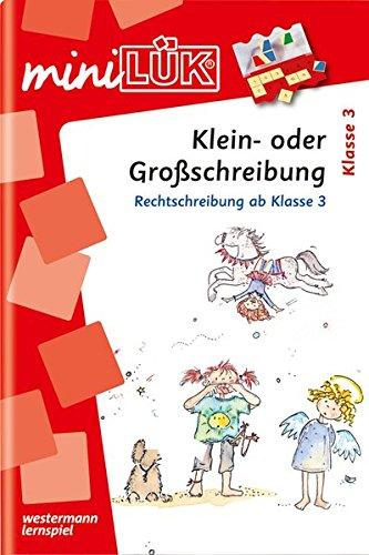 miniLÜK-Übungshefte: miniLÜK: 3./4. Klasse - Deutsch: Klein- oder Großschreibung