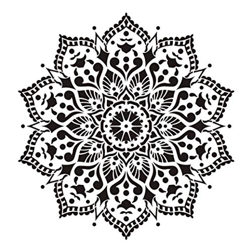 dyudyrujdtry pragmatische grootte DIY Craft Layering Mandala sjabloon voor muurschildering Scrapbooking stempelen album decoratieve reliëf papier kaart 4