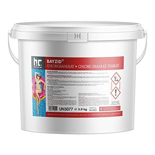 Höfer Chemie 5 kg BAYZID ® Chlor Granulat wirkt schnell und zuverlässig für Pool und Schwimmbad bestellen
