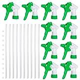 Yardwe 10 Pezzi bomboletta Spray bomboletta Spray di Ricambio grilletto Resistente agli Agenti chimici Parte di Ricambio Testina Spray per Bottiglie Spray di plastica per irrigazione Pulizia