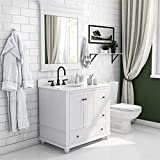 Dorel Living Monteray Beach 36 Inch, White Bathroom Vanity, 36'