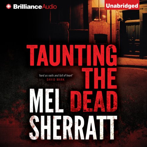 Taunting the Dead audiobook cover art