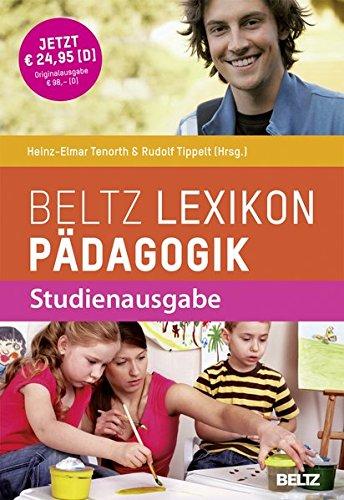 Beltz Lexikon Pädagogik: Studienausgabe
