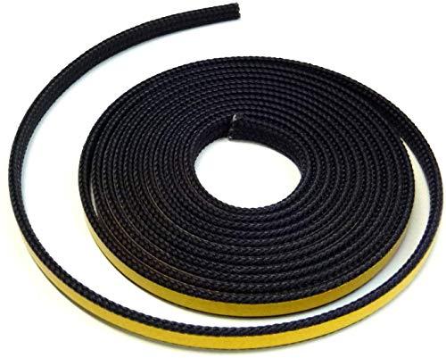 Kamindichtung 3m, ø 8x2mm Flach-Kordel Dichtband selbstklebend. Passend für verschiedene Haas+Sohn Kaminofen Modelle