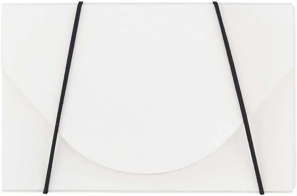 JAM PAPER Plastic Business Card Holder Ranking TOP2 100 Ranking TOP3 - White Case Solid