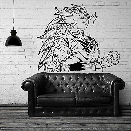 Dragon Ball Wandtattoo Dragon Ball Sun Wukong Vinyl Wandtattoos Aufkleber Dekoration Wohnzimmer Schlafzimmer Kunst Wandmalereien abnehmbare Wandaufkleber