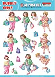 Yvonne Creations Yvonne PUNCHOUT SHET, Compras, Chicas Bubbly, talla única