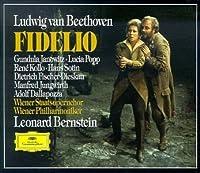 Beethoven - Fidelio / Janowitz, Popp, Kollo, Sotin, Fischer-Dieskau, Jungwirth, Dallapozza, Wiener Phil., Bernstein by Dietrich Fischer-Dieskau