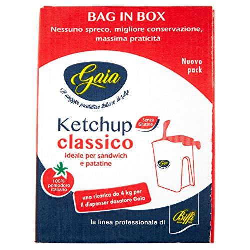 Gaia ketchup bag in box confezione da 4 kg (1000042904)