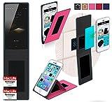 reboon Hülle für HomTom HT7 Pro Tasche Cover Case Bumper | Pink | Testsieger