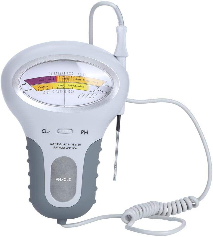 Mumusuki Portable Swimming Pool Water PH OFFicial store Chlorin Topics on TV Tester Detector