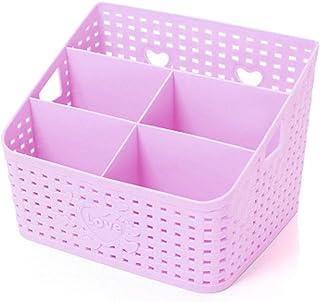 Swing around Bureau de Stockage de contrôle à Distance Rack Caddy boîte en Plastique de Bureau Boîte de Rangement Panier d...