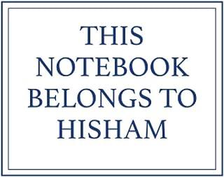 This Notebook Belongs to Hisham