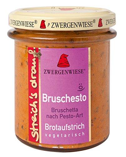 Zwergenwiese Bio Bruschetta-Pesto- para untar 'Bruschesto' (160 g)