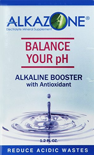 Alkazone - Balance Your pH Booster Mineral Supplement with Antioxidants - 1.25 Fl. Oz