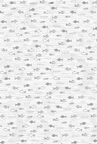 Heyda 204772731 Karton A4 200g Fisch silber (10 Stück)
