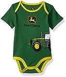 John Deere Baby Boys Bodysuit, Green, 6-9 Months