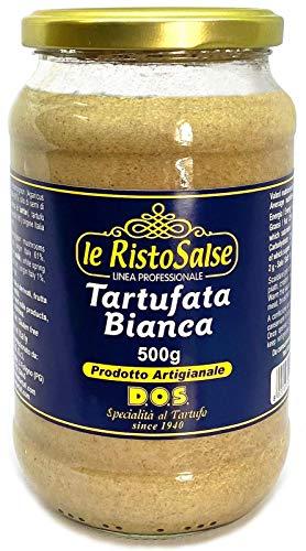 Salsa Blanca de Trufa 500g - Producto típico Italiano - Utilizada en Restaurantes y Chefs profesionales