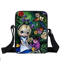 Gothic Women Small Messenger Bag Boys Girls Shoulder Bag School bags Portable Cool Mini Crossbody Bags Best Gift
