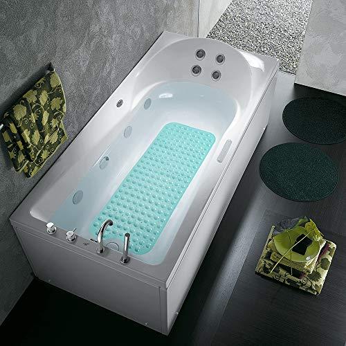 COMUSTER Bathtub and Shower Mats, Extra Long Non-Slip Bath Mat (39