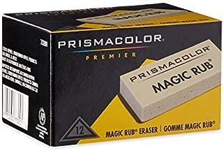 2 X Prismacolor Magic Rub Vinyl Drafting Erasers, 12-Pack (73201)