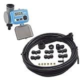 Ferrestock Kit Completo para Sistema de nebulización de 15 m, Negro, FSKNEB002KIT