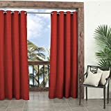 PARASOL Outdoor Curtains for Patio-Key Largo 52
