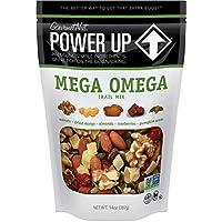 GourmetNut Power Up Mega Omega Trail Mix, 14 Oz