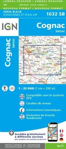 Cognac Jarnac 1:25000