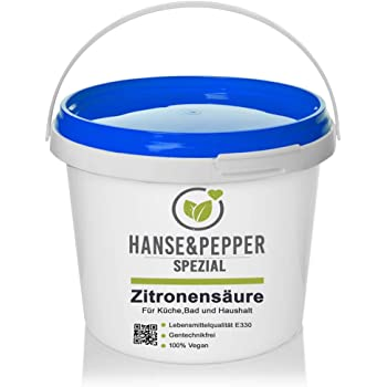5kg Zitronensäure in Lebensmittelqualität C6H8O7 E330 Loses Pulver - Greenline Serie
