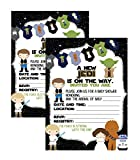 Silly Goose Gifts Epic Party from A Galaxy Far Far Away Supply (Baby Shower Invite)