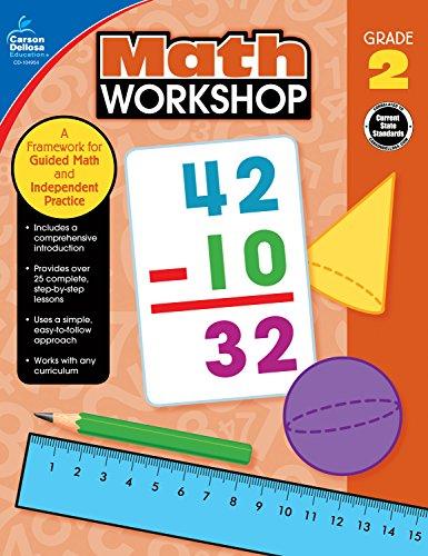 Carson-Dellosa Math Workshop Resource Book, Grade 2
