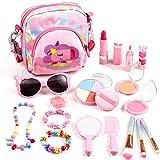 Auney Kit de Maquillaje Niñas, 18 Piezas de Juguete de Maquillaje...
