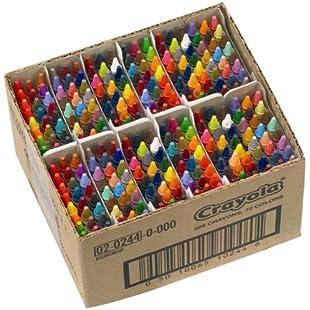 Crayola 2.0244 Assorted Crayons Class Pack