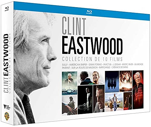 Coffret clint eastwood 10 films
