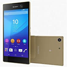 $69 » Sony Xperia M5 4G LTE, Octa-Core, 21MP+13MP Cameras Android Smartphone - Worldwide Unlocked for GSM Carriers (Like AT&T, T-Mobile) - Gold (Renewed)