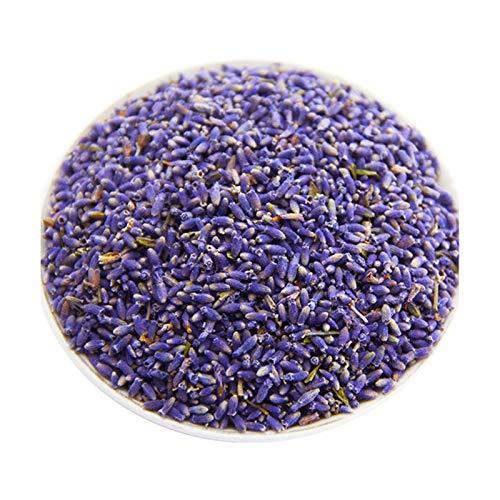 THQC Getrocknete Blüten 100g natürliche getrocknete Blumen Lavendel Bündel Lavendel Knospen frisch Lavendelbündel Aroma Art und Weise dekorative Blumen-Bouquet (Farbe : 100gr Lavender Buds)