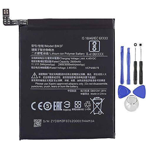 Ellenne Batería Compatible con XIAOMI BM3F para MI8 Pro Mi 8 Pro Alta Capacidad 3000 mAh con Kit de desmontaje Incluido