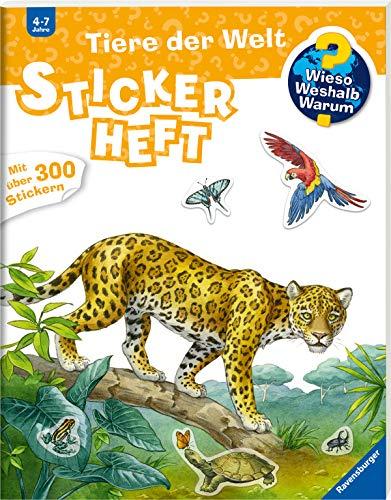 Stickerheft Tiere der Welt