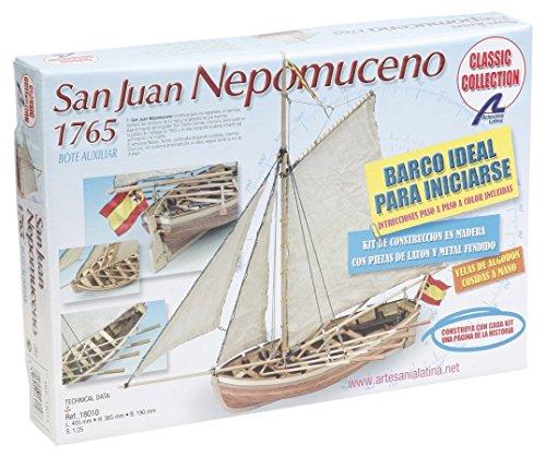 Artesanía Latina 18010. Maqueta de barco en madera. Lancha