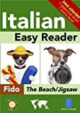 Italian Easy Reader - Fido at the Beach/Jigsaw (Italian Edition)
