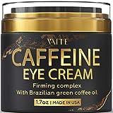 Caffeine Eye Cream - Anti-Aging & Wrinkle Fighting Skin Treatment - Reduces Puffiness & Dark Circle - Eye Lift Cream - Natural Skincare