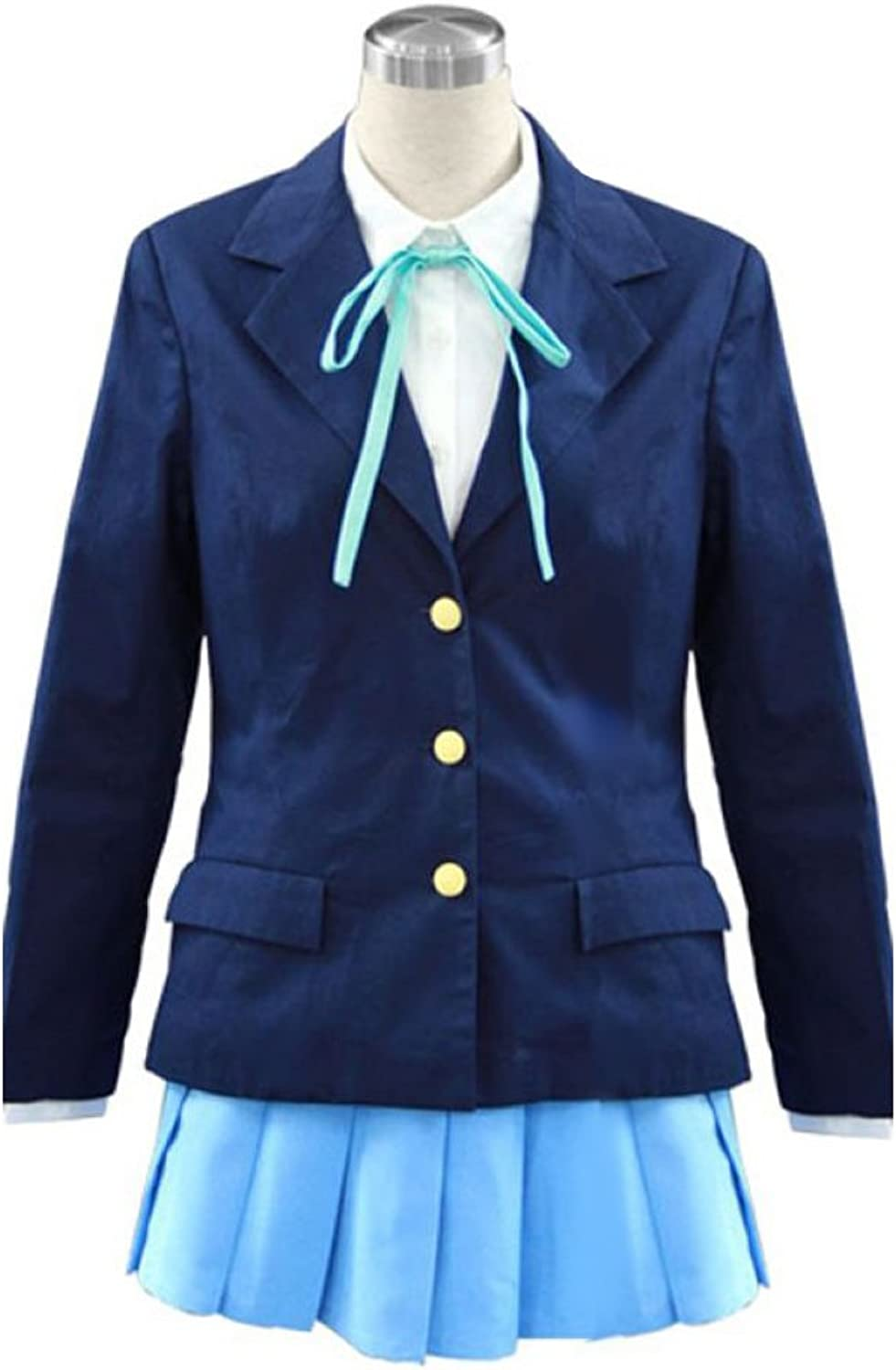 Dream2Reality japanische Anime KON  Cosplay Kostuem  Hokago high school Maedchen Uniform 2nd Ver Kid Size Large