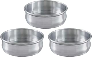 Stackable Dough Pan, 48oz, Alu, SET OF 3