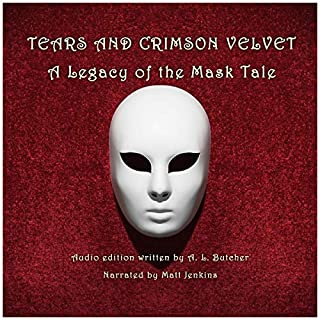 Tears and Crimson Velvet audiobook cover art