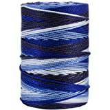 Iris 18-485 Nylon Crochet Thread, 197-Yard, Blue Mix
