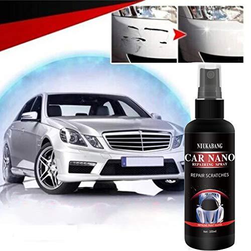 Anti-Scratch Car Body Nano Repairing Polish Spray, Super Hydrophobic Glass of Oxidation Liquid Ceramic Coating, Car Nano Repairing Spray, Oxidation Liquid Ceramic Super Hydrophobic Glass (100ML)