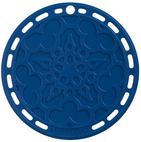 Le Creuset Silicone 8-Inch Round French Trivet, Marseille